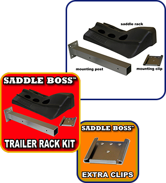 Trailer Rack Kit and Clips